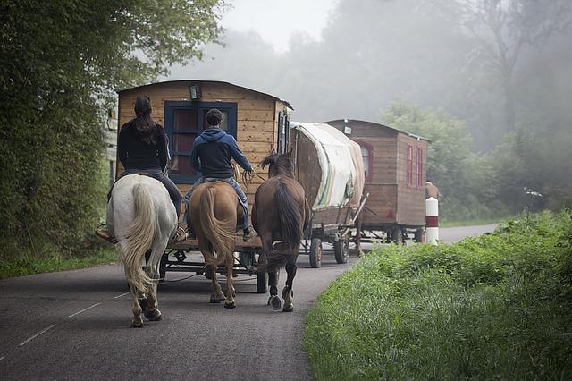 cestování s karavany